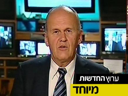 """ראש אמ""""ן לשעבר אהרון זאבי פרקש בראיון (צילום: חדשות 2)"""