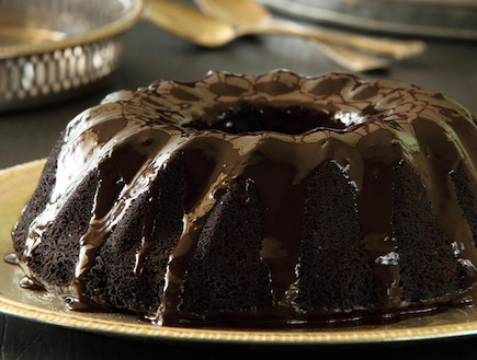 עוגת תעלת שוקולד
