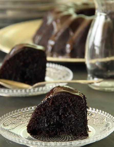עוגת תעלת שוקולד (צילום: חן שוקרון, אוכל טוב)