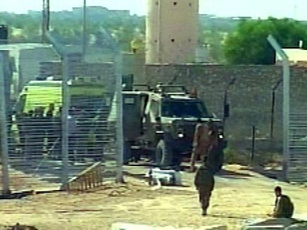 מעבר הגבול בכרם שלום, ארכיון (צילום: חדשות 2)