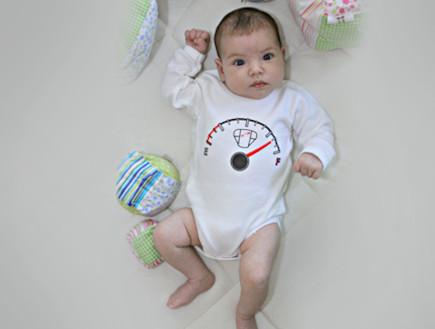 חיתול מלא - בגדי תינוקות yume (צילום: יניר שפיר)