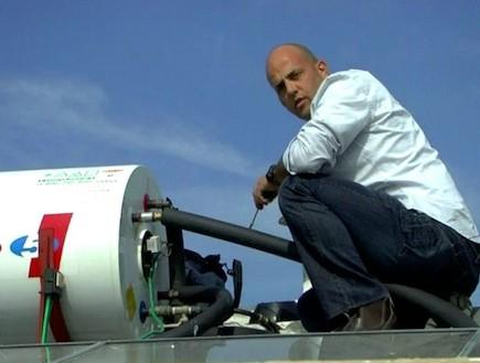 אורן יוגב, הטכנאי של יצאת צדיק (תמונת AVI: mako)