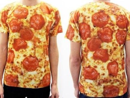 לובשים פיצה (צילום: buzzfeed)