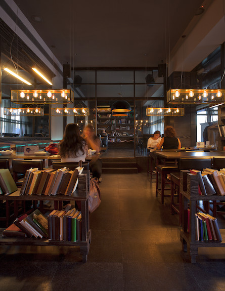 הספרייה, באר שבע, סטודיו גד הלפרין (צילום: יואב גוריון)