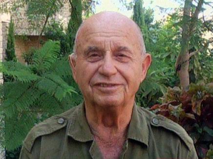 יוסף צין, המילואימניק הוותיק (צילום: חדשות 2)