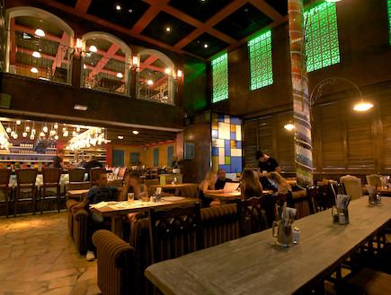 מסעדת באריו, אדריכל יוסי אבן (צילום: דרור כץ)