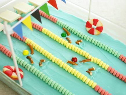 עוגת בריכת שחייה (צילום: צילום מסך מהבלוג cutestfood.com)