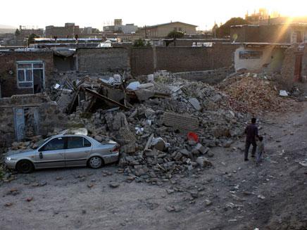 רעידת אדמה באירן (צילום: חדשות 2)