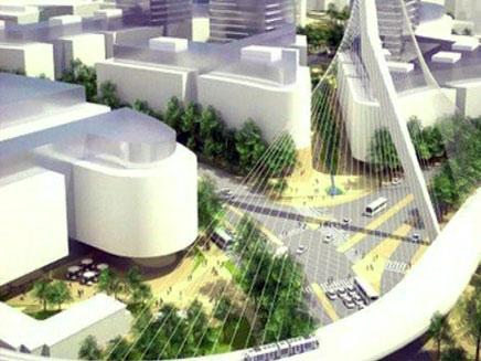 צפו: התכנית שתשנה את פני ירושלים (צילום: הדמית מחשב)