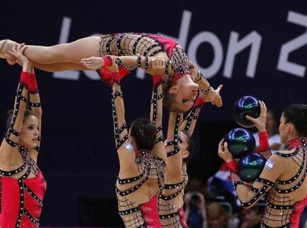 אחרונות חביבות. נבחרת הנשים (gettyimages) צפו בסיכום היום בלונדון (צילום: ספורט 5)