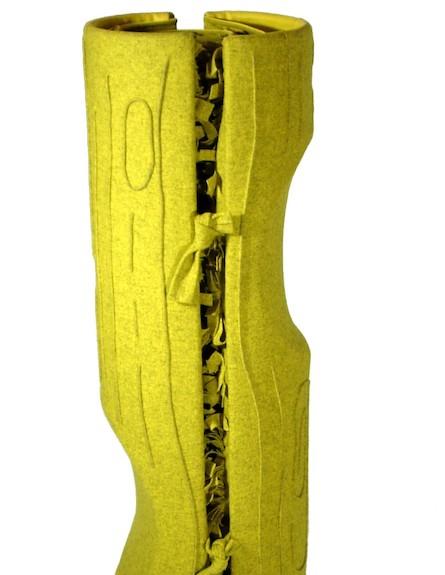 גליל מיטה ירוקה (צילום: מתוך האתר-aguinigadesign.com)