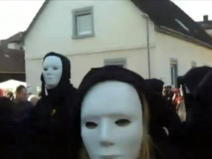 הפגנות אימה בגרמניה (öéìåí: CNN)