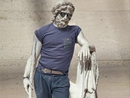 פסלים היפסטרים (צילום: behance.net)