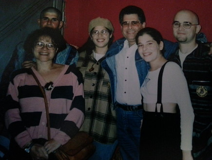 מיכל דליות, בעלה והילדים (צילום: תומר ושחר צלמים)