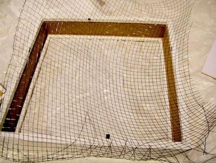 רשת מסגרת-גינה במסגרת (צילום: דידי רפאלי)