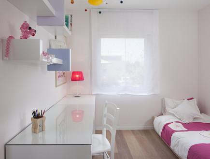 חדר ילדים אחרי שיפוץ, אפרת רז ומיכל סיני (צילום: שי אפשטיין)