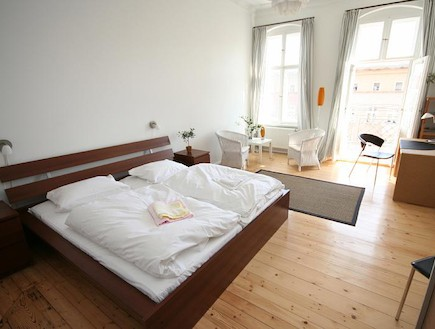חדר שינה בדירה בברלין