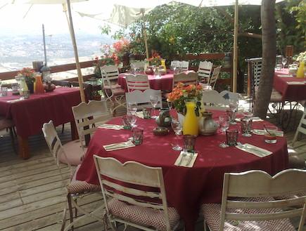 מסעדת רוטמן, מצפה לוטם (צילום: סשה אלכוב,  יחסי ציבור )
