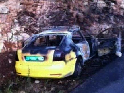 המונית הפלסטינית שהוצתה. ארכיון