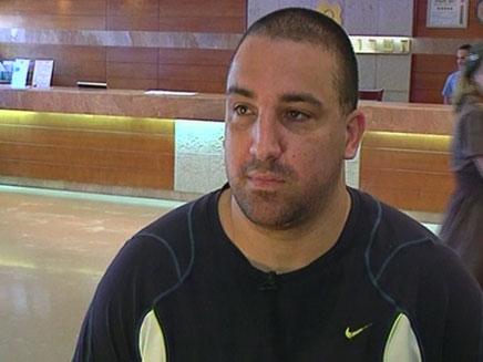חזי ראובן, דודו של החשוד בדריסה (צילום: חדשות 2)