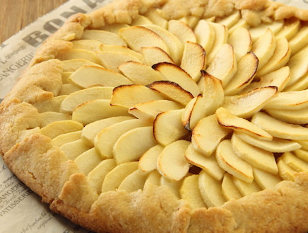 קרוסטטה תפוח בדבש (צילום: חן שוקרון, אוכל טוב)