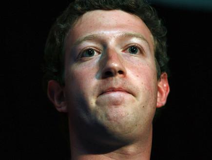 """מנכ""""ל פייסבוק, מארק צוקרברג (צילום: Justin Sullivan, GettyImages IL)"""
