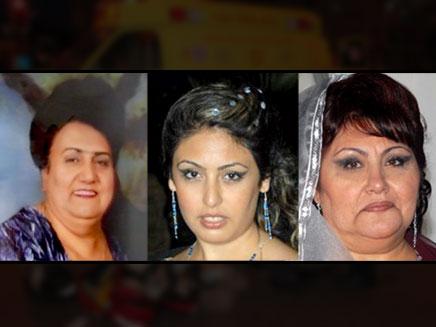 שלוש ההרוגות. סבטלנה ושושנה יגודייב ואלכ (צילום: חדשות 2)