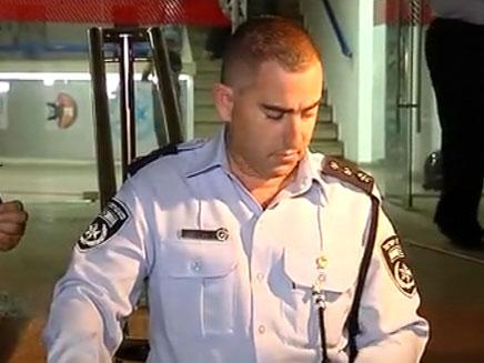 """מפקד המבצע, נצ""""מ אלון אריה (צילום: חדשות 2)"""