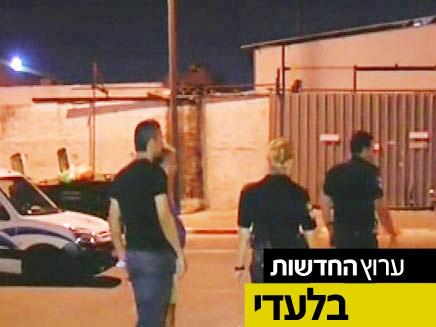 זירת לכידתו של שושן ברבי (צילום: חדשות 2)