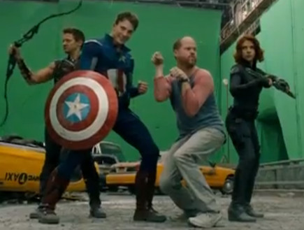 the avengers bloopers