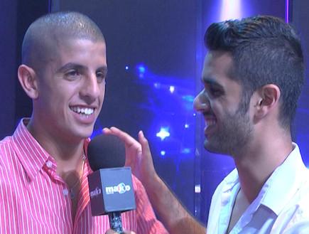 רן שפיר בראיון הדחה (תמונת AVI: mako)