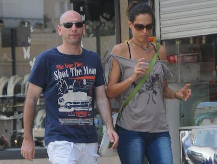 ענת הראל והחבר (צילום: ברק פכטר)
