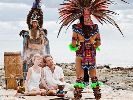 חתונה במקסיקו (צילום: Dean-Sanderson)