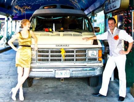 חתונה בלאס וגאס (צילום: Megan-Finley)
