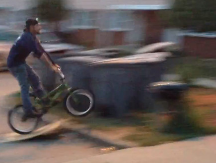 bbq bike fail