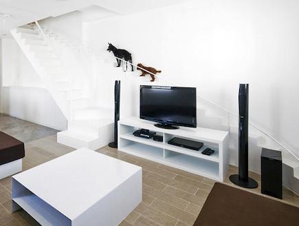 מדרגות לכלבים (צילום: Hiroyuki Oki of Decon Photo Studio)