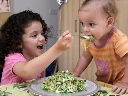 פסטה ירוקה (צילום: אסתי רותם, אוכל טוב)