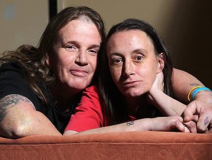 הזוג האוסטרלי הרועש (צילום: adelaidenow.com.au)