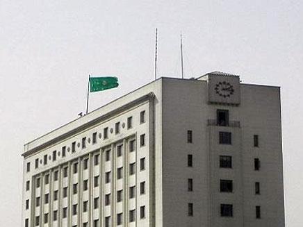 מטה הליגה הערבית בקהיר. איום סרק (צילום: חדשות 2)