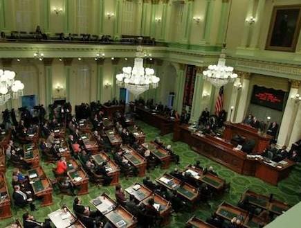 האסיפה הלאומית של קליפורניה (צילום: אימג'בנק / Gettyimages)
