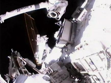 הצטרפו לשידור החי מהחלל (צילום: חדשות 2)