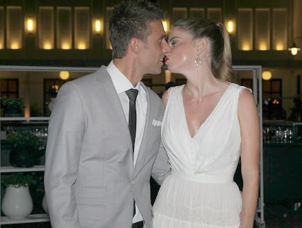 חתונה לירון ויצמן (צילום: ראובן שניידר )
