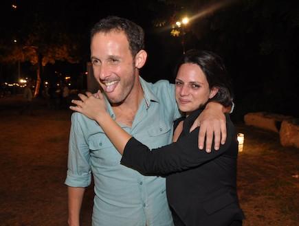 איתי שגב ומאיה רוטמן (צילום: צ'ינו פפראצי)