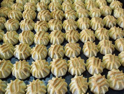 עוגיות מעמול ללא גלוטן (צילום: מכון אברהמסון)