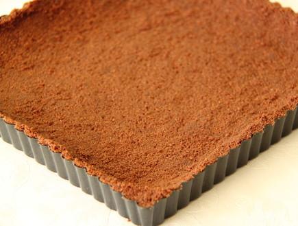 מוס פסיפלורה ושוקולד לבן - הבסיס (צילום: חן שוקרון, אוכל טוב)