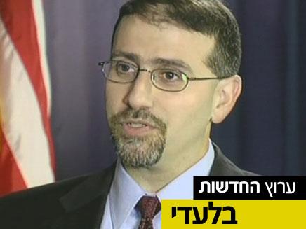 """שגריר ארה""""ב בישראל משדר """"עסקים כרגיל"""" (צילום: חדשות 2)"""
