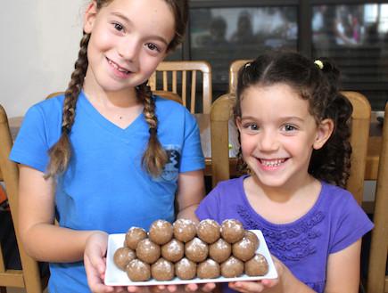 כדורי חמאת בוטנים ונוטלה (צילום: אסתי רותם, אוכל טוב)