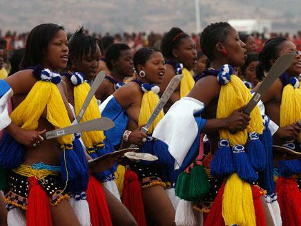 צפו בריקוד המלכותי (צילום: AP)