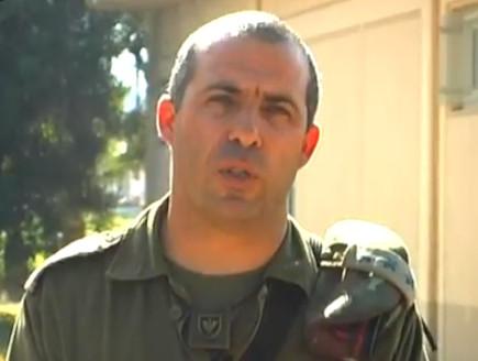"""מח""""ט כפיר אל""""מ אודי בן מוחה (צילום: אלכסנדר גבריקוב, ישראל היום)"""