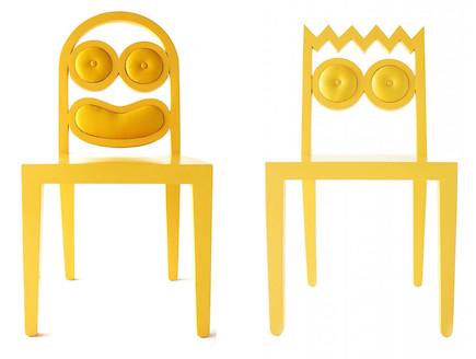 כיסאות צהובים (צילום: 56thstudio.com)